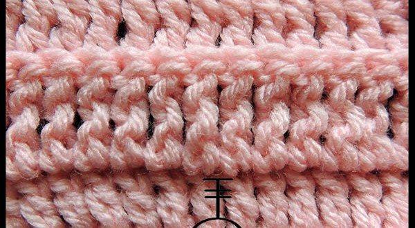 Curso Básico de Crochet | Doble Punto Alto tomando la hebra posterior