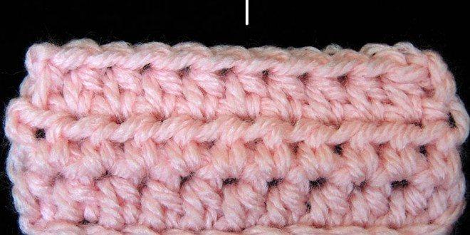 Curso Básico Crochet : Medio Punto Alto