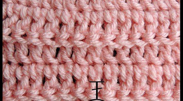 Curso Básico de Crochet | Punto Alto tomando la hebra posterior