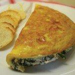 omelette-espinacas