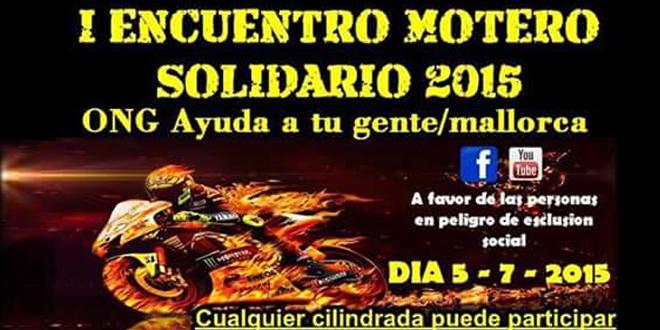 I Encuentro Motero Solidario 2015