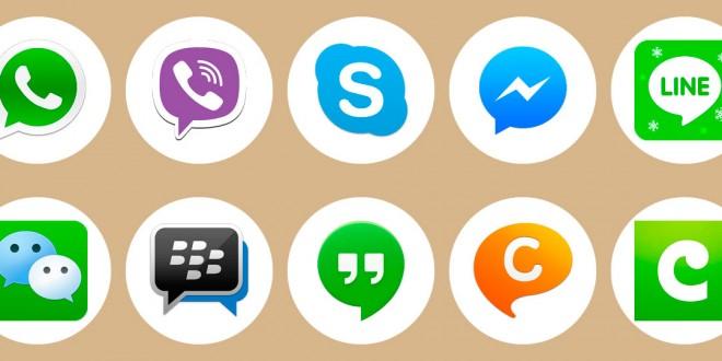 Aplicaciones alternativas para chatear, llamar y enviar fotos
