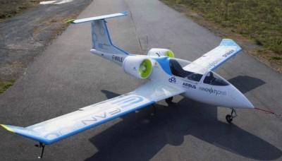 El E FAN 2.0, el avión eléctrico de Airbus.