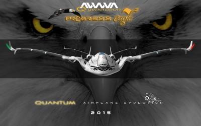 El futurista AWWA-QG Progress Eagle, concepto del diseñador barcelonés y entusiasta de la aviación Oscar Viñals