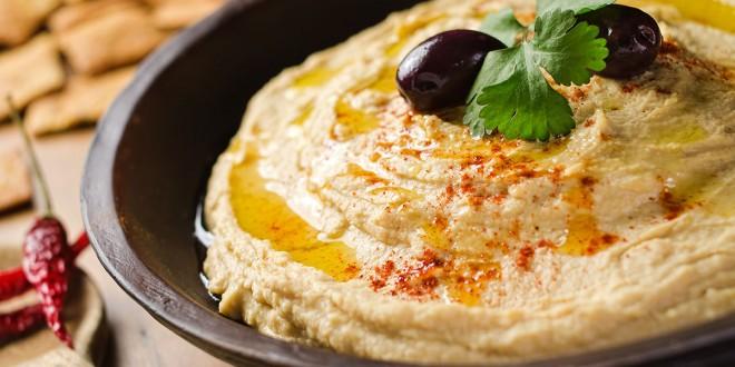 Crema de garbanzo (Hummus)
