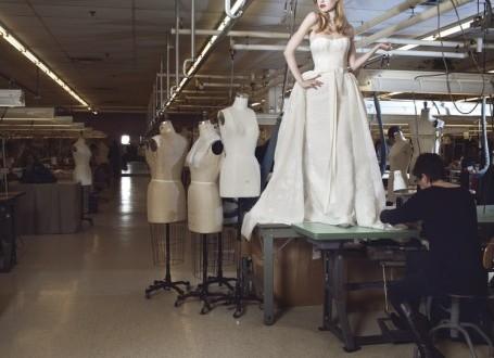 11 Razones por qué seleccionar la tela, antes que el modelo del vestido de novia