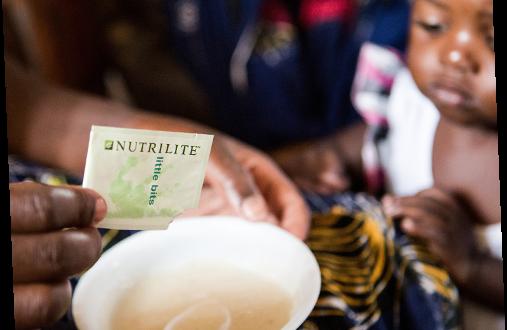 Nutrilite Planea Entregar 5 Millones de Little Bits para Beneficiar unos 14.000 Niños Desnutridos