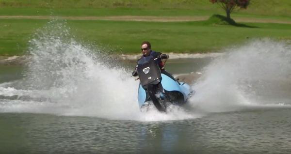 Gibbs Biski – ¿Moto de Tierra o de Agua?