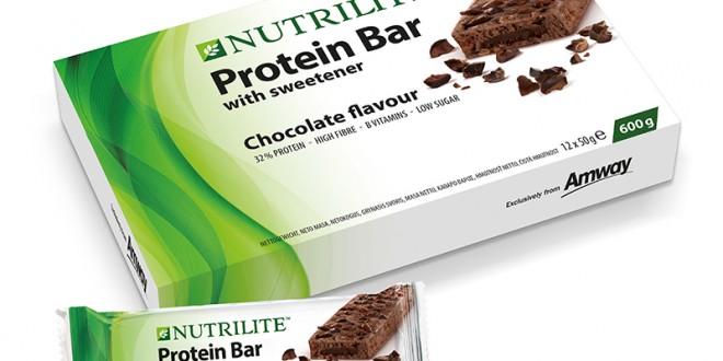 NUTRILITE Presenta su Última Novedad, Barritas de Proteínas