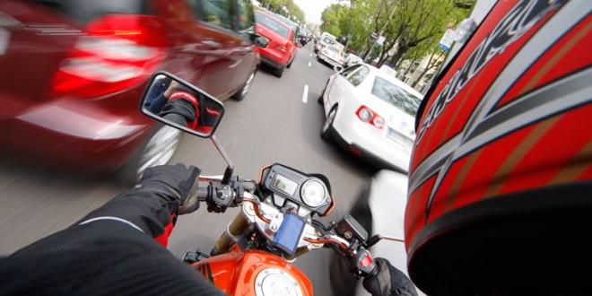 Cómo circular en moto por la ciudad