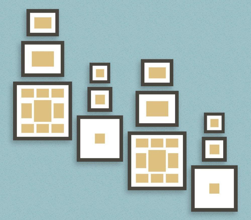colgar-cuadros-cuadrados-escaleras