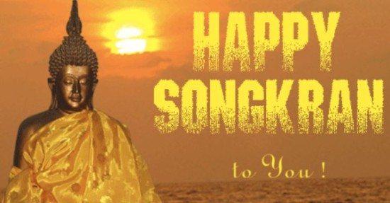 SONGKRAN. FESTIVIDAD DEL AÑO NUEVO TAILANDÉS.