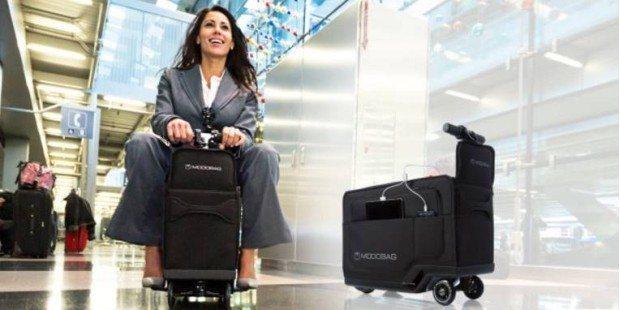 Para qué cargar equipaje si él te puede cargar a ti