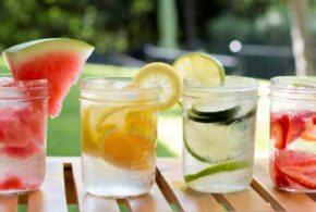 Aguas con sabor para el verano