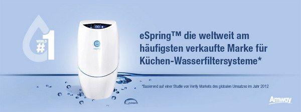 Wasserfiltersystem eSpring