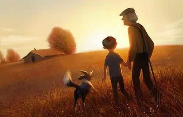abuelo-paseando-con-sus-nietos