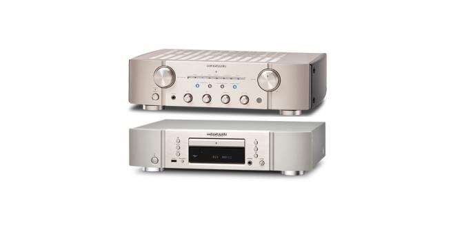 Amplificador y Lector de CD – Marantz Alta Gama