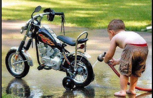 Cómo puedo limpiar la moto